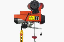 煤矿企业加强对xiao型电动葫芦的定期保养工作
