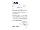 mei-ABS船级社认证