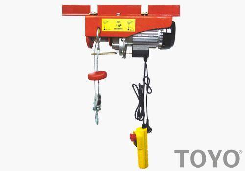 小型电动葫芦安全使用的操作都有哪些